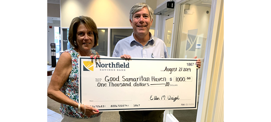 Good Samaritan Haven Check Presentation