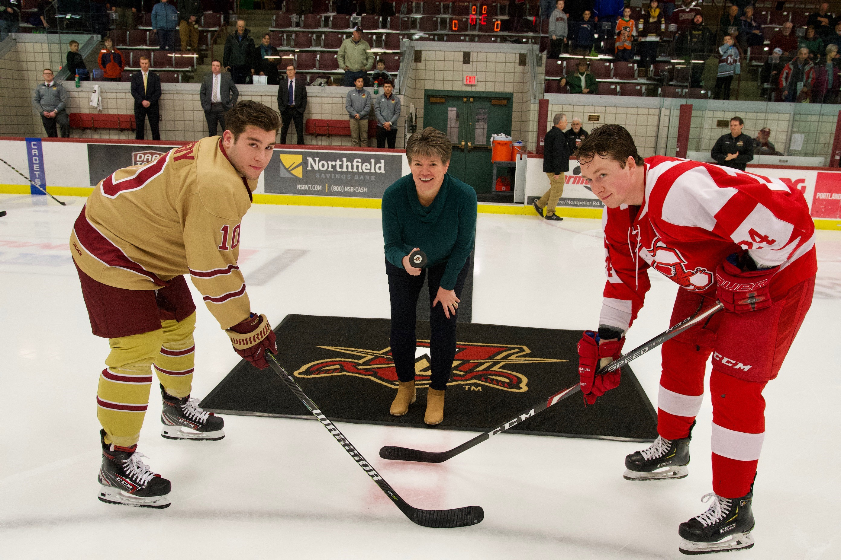 Championship Game Puck Drop